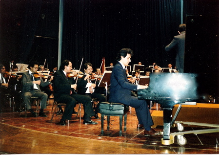 PLaying with Orchestra
