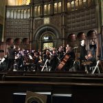 Orchestra & Choir playing2